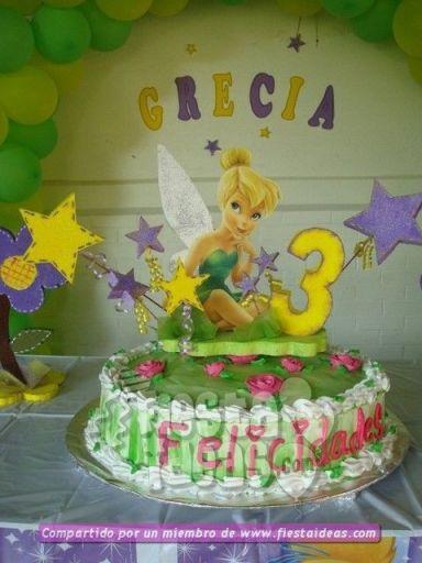 20 ideas para decoracion de tortas de Campanita - tinkerbell-007_min