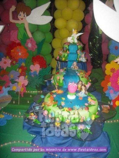 20 ideas para decoracion de tortas de Campanita - tinkerbell-008_min