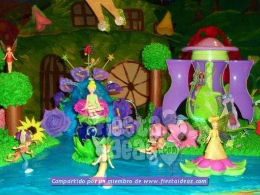 20 ideas para decoracion de tortas de Campanita - tinkerbell-017_min