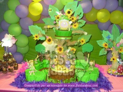 20 ideas para decoracion de tortas de Campanita - tinkerbell-020_min