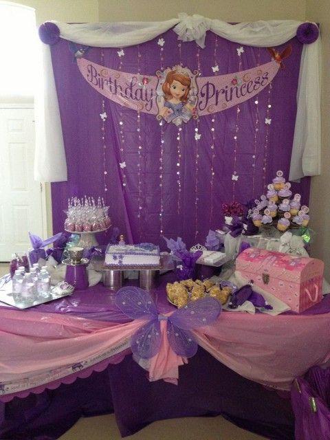 2eced9760 Ideas de decoracion para fiesta de Princesa Sofia Nuevas (2018)