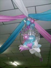 Como hacer un globo piñata baby shower