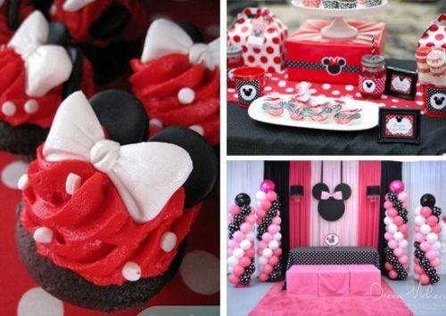 Fiesta de Minnie mouse con ideas de decoración originales