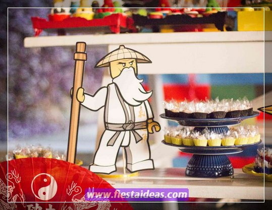 25 decoraciones de fiesta Ninjago las últimas ideas son muy originales