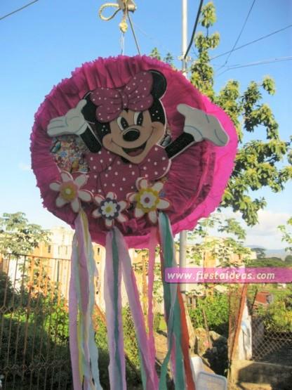 Fiesta de minnie mouse ideas de decoraci n originales 2018 for Decoracion de pinatas infantiles