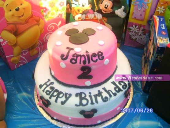 15 Decoraciones de minnie mouse pastel