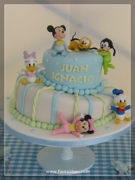Decoraciones De Baby Shower Con Mickey Mouse