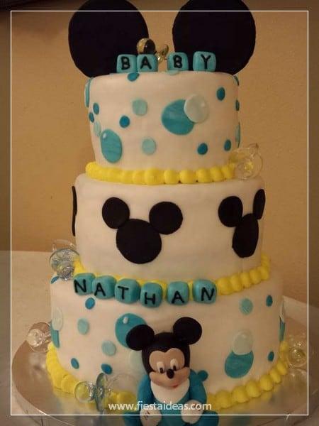 Decoraciones De Baby Shower Con Mickey Mouse