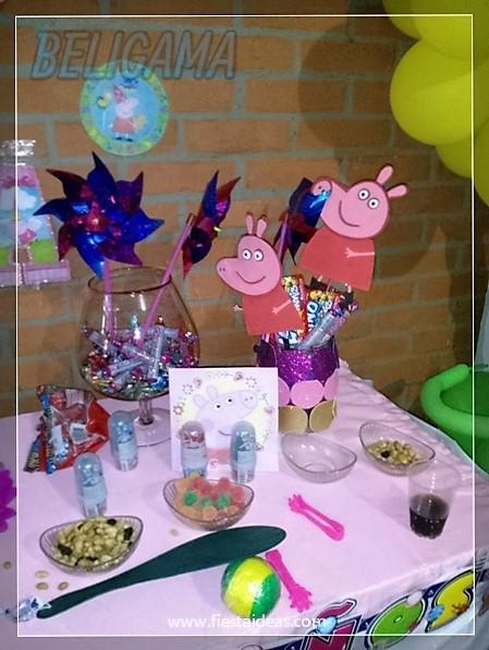 Peppa Pig Original fiesta de cumpleaños infantil lindos detalles