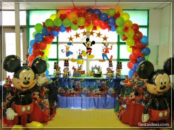 ideas de fiesta mickey mouse