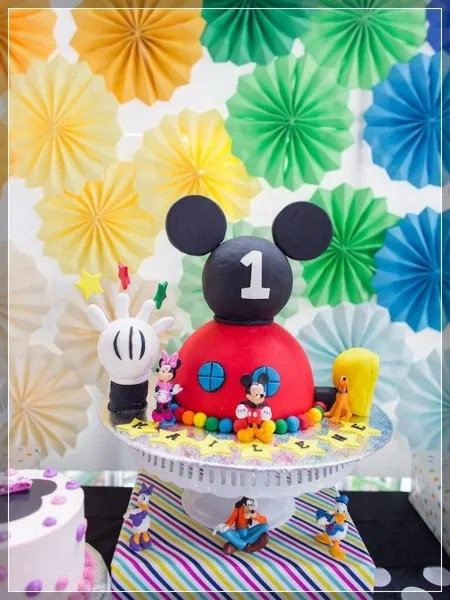 50 ideas de fiesta mickey mouse decoraciones for Decoracion la casa de mickey mouse