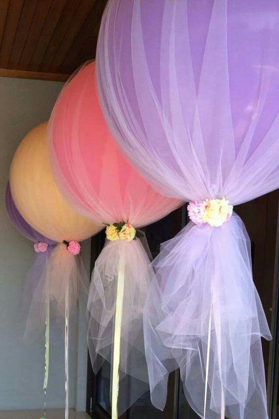 decoracion_flores_de_globos_fiestaideasclub_00029 hermosa combinacion de flores y globos trucsetbricolages