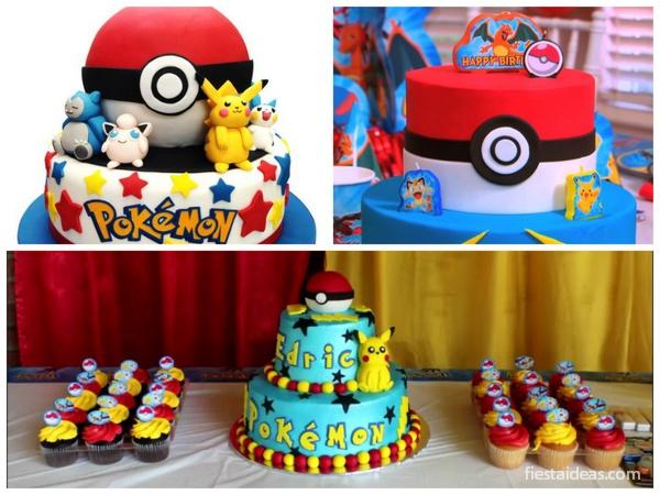 de tortas pokemon go super originales