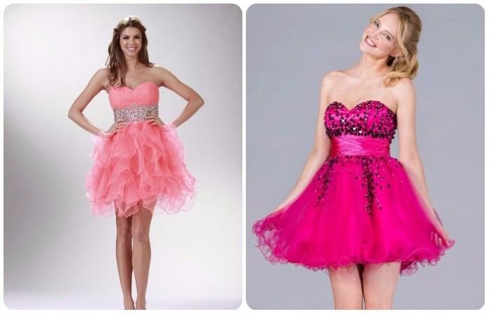 Diseños de Vestidos Cortos de colores modernos