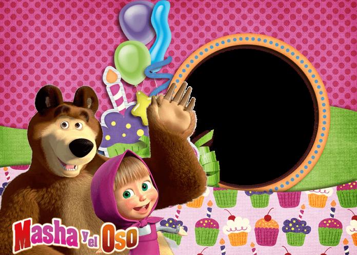 imagenes de masha y el oso