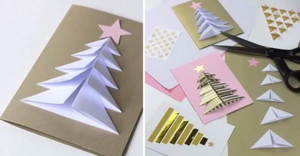 Bonitos Dibujos De Navidad A Color Faciles.Crea Tarjetas Navidenas Gratis Con Mensajes Lindos Faciles