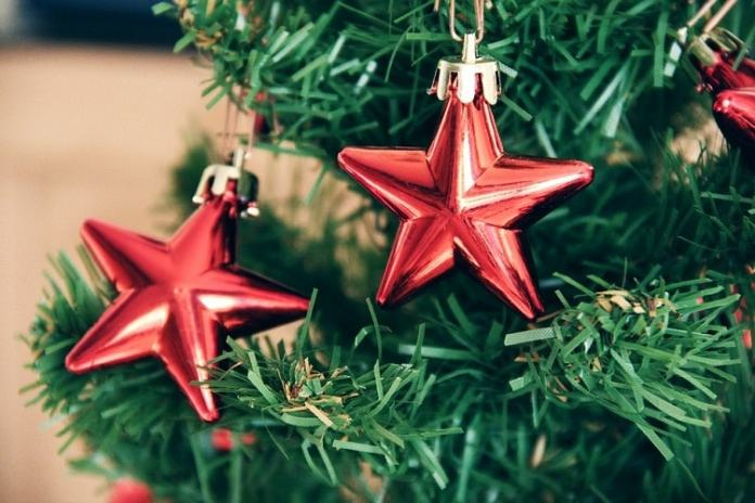 adornos arbol de navidad estrella