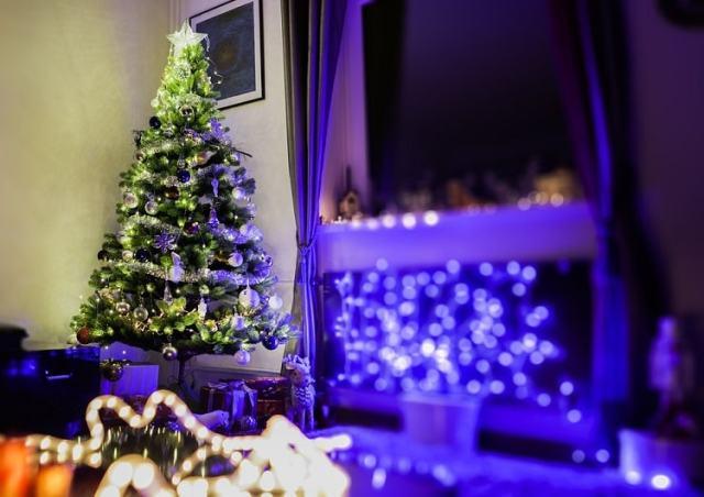 arbol de navidad decorado