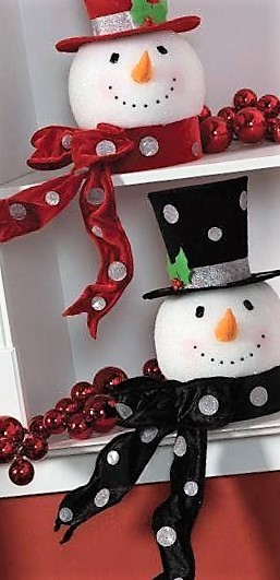 Manualidades Figuras De Navidad Decorativas Blancas