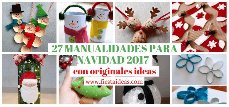 ideas para navidad 27 MANUALIDADES PARA NAVIDAD 2019 Con Originales Ideas