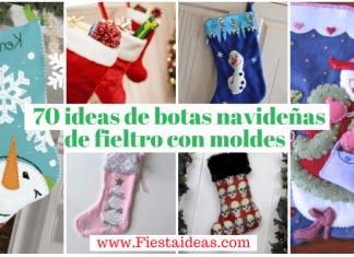 botas navideñas fiesta ideas