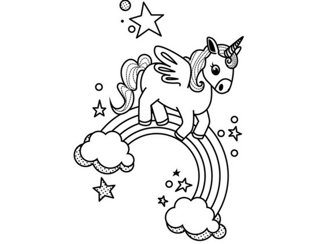 Imagenes De Unicornios Para Descargar Listas Para Imprimir Y Colorear