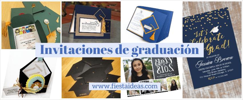 70 Invitaciones De Graduación Para Editar Originales Ideas 2018