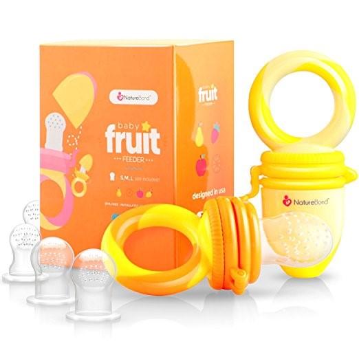 Regalo para babyshower Dispensador de frutas de NatureBond