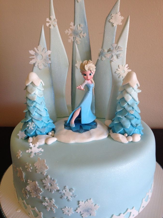 Lindas tortas de Frozen