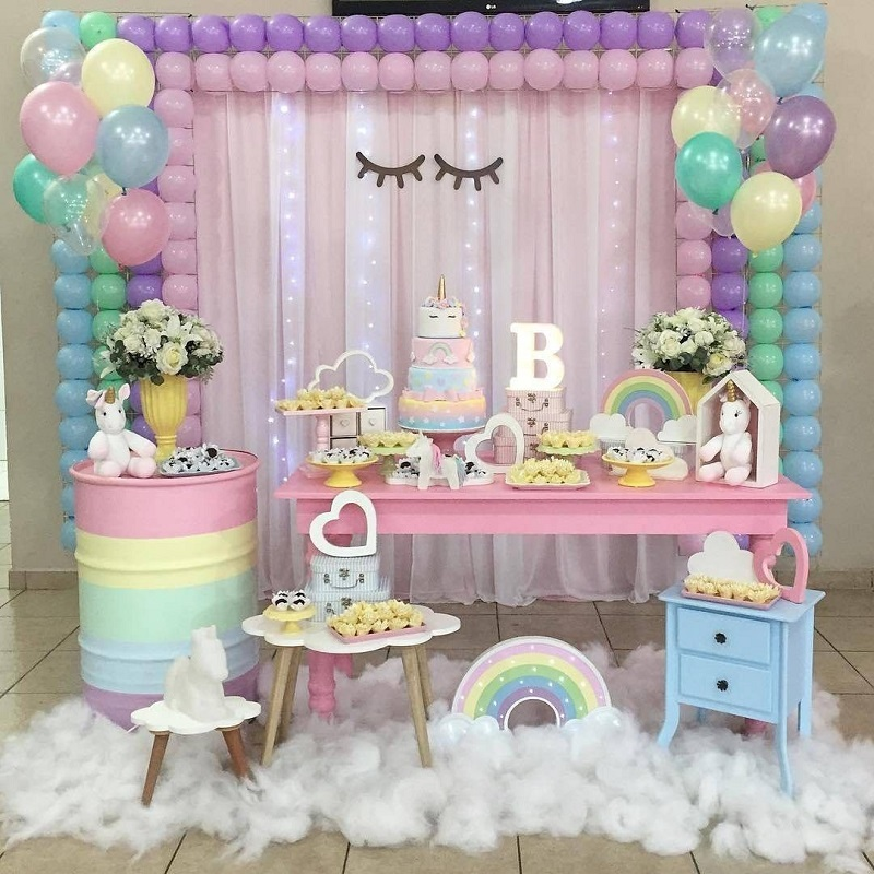 Ideas De Decoracion Baby Shower Nina.15 Ideas Para Decoracion De Baby Shower Con Globos Te Encantaran