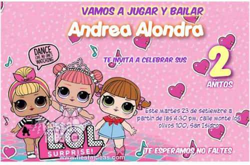 Tarjeta personalizado pequeña bailarina bailarina Diseño tarjeta de Cumpleaños Niñas