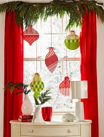 Decoración navideña para ventanas 2020