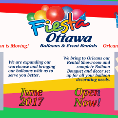 Chair Covers Rental Ottawa Suede Computer Fiesta  Balloons And Event Rentals