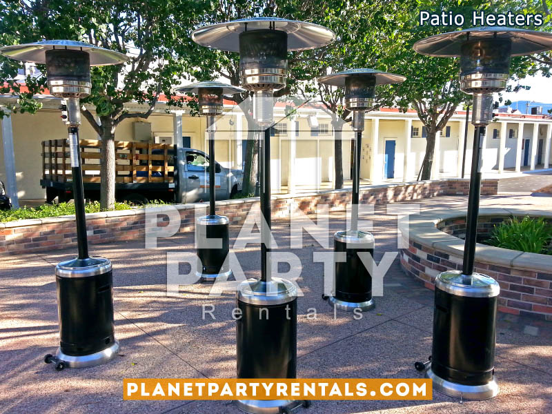 outdoor patio heater party rentals tents tables chairs jumpers patioheaters