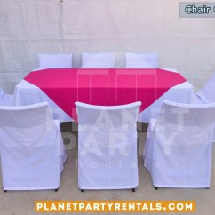 Chair Covers And Tablecloth Rentals Sleeper Folding Foam Bed Cover Party Tents Tables Chairs Jumpers White With Rectangular Table Cloth Pink Overlay Runner San Fernando