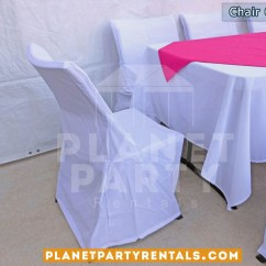 Chair Covers And Tablecloth Rentals Container Store Desk Cover Party Tents Tables Chairs Jumpers White With Rectangular Table Cloth Pink Overlay Runner San Fernando