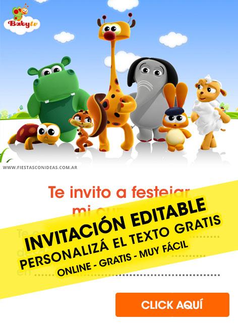 23 free baby tv birthday invitations