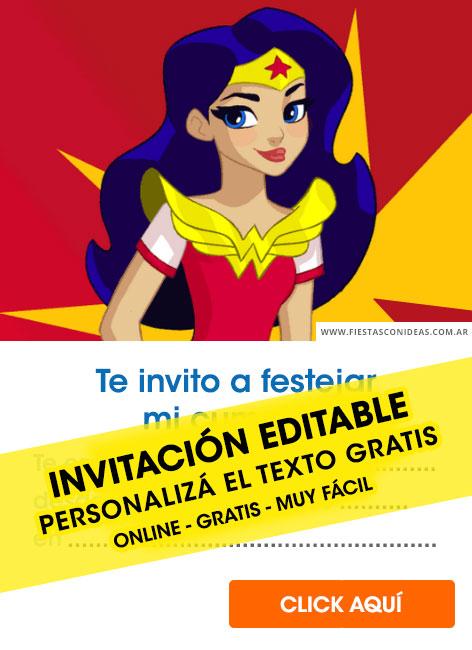 21 free dc super hero girl birthday