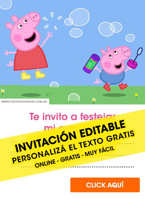 15 free peppa pig birthday invitations