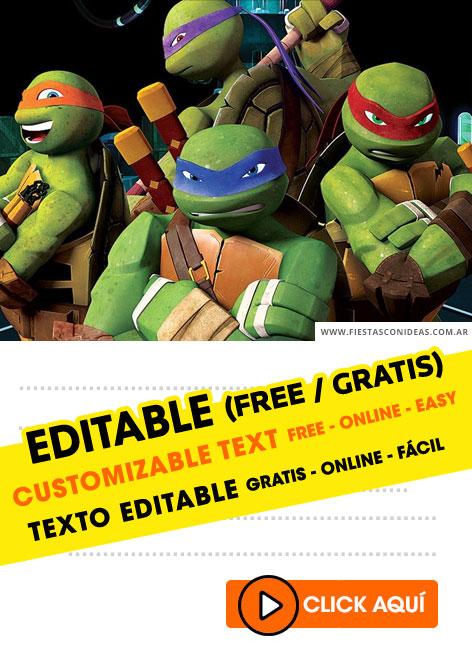6 free teenage mutant ninja turtles