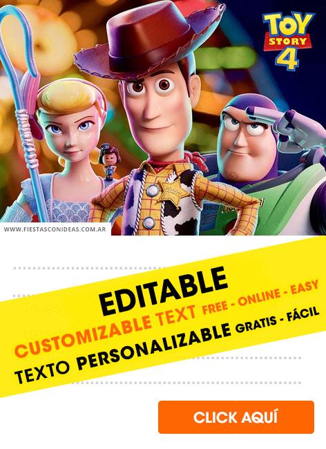 31 free toy story birthday invitations