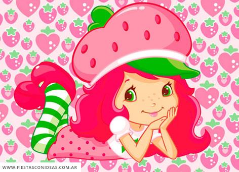3 free strawberry shortcake birthday
