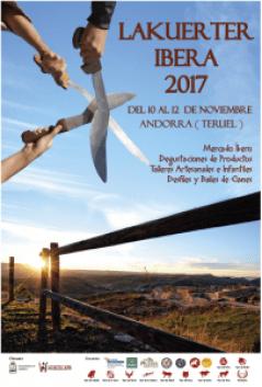 cartel fiestas Lakuerter Ibera 2017
