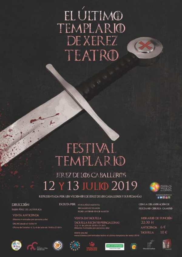 Festival Templario De Jerez De Los Caballeros 12 Y 13 De Julio Asociación Española De Fiestas Y Recreaciones Historicas