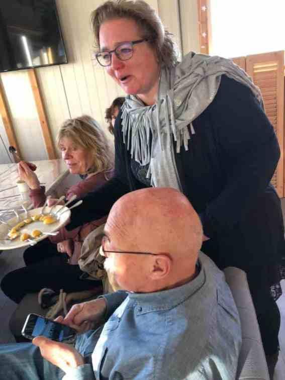 En nog een lekker eierroompje van Sylvia Simons-vd Berg toe... — bij Santé Holland.