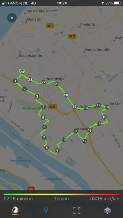 Lekker 24 km in de beentjes voor het Perenfietsen — bij Fietsen voor m'n eten.