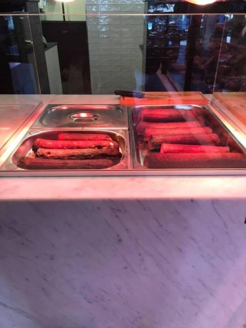 En natuurlijk de grillworst niet vergeten bij Slagerij Björn van Koppen — bij Slagerij Björn van Koppen.