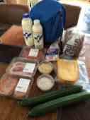 Mijn one-stop-shopping-buit van dinsdag — bij Fietsen voor m'n eten.