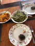 Smullen! - zoete aardappelen gekregen van Esther Klapwijk - uien en sperziebonen van Cees van Staalduinen - tartaartjes van Hoeve Biesland - roomboter van Biefit Gezondheidswinkel — bij Fietsen voor m'n eten.