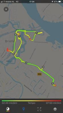 Kort ritje fietsen voor m'n / ons eten — bij OP Voorne-Putten.
